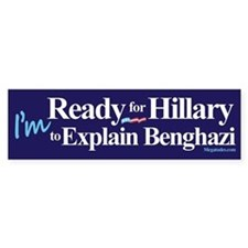 Ready for Hillary Bumper Sticker