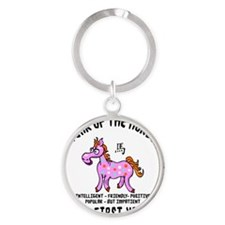 horseA55light Round Keychain