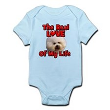 RealLoveOfMyLife Bichon Frise Body Suit
