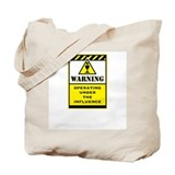 Caution Tote Bag