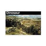 Dinosaur NM Rectangle Magnet