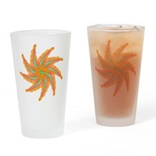 Nine pointed star Drinking Glass