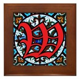 Stained Glass W Framed Tile