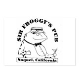 FROGGY LOGO Postcards (Package of 8)