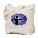 Man created the Bow, A women  Tote Bag