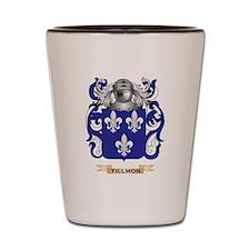 Tillmon Family Crest (Coat of Arms) Shot Glass