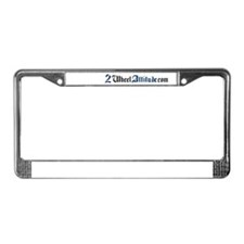 2 Wheel Attitude License Plate Frame