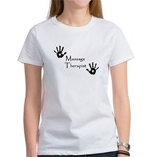 Handprints Women's T (White)