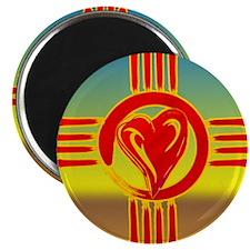 DESERT ZIA LOVE Magnets
