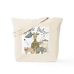 Jungle Animal New Baby Tote Bag