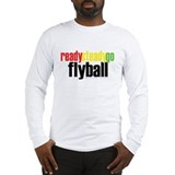 Ready Steady Go Flyball Long Sleeve T-Shirt