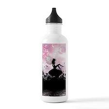 Fairy Silhouette Water Bottle