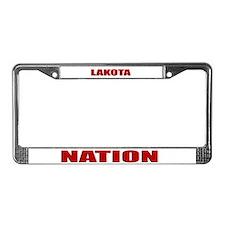 Lakota Nation License Plate Frame