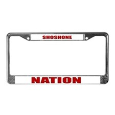 Shoshone Nation License Plate Frame