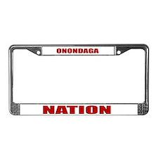 Onondaga Nation License Plate Frame