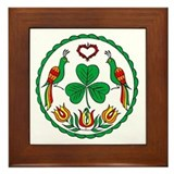 Irish Hex Framed Tile