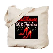 RED HOT 50TH Tote Bag