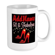 RED HOT 50TH Mug
