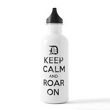 Detroit D Keep Calm an Water Bottle
