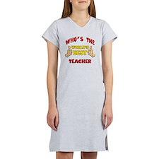 Thumbs Up Worlds Best School Te Women's Nightshirt