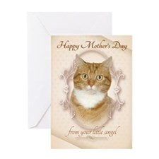 Ginger Cat Mothers Day Cards