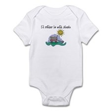 Rather be with Abuelo Infant Bodysuit