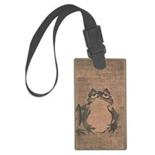 Vintage Japanese Frog Luggage Tag