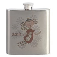 Snowman Angel 2013 Flask
