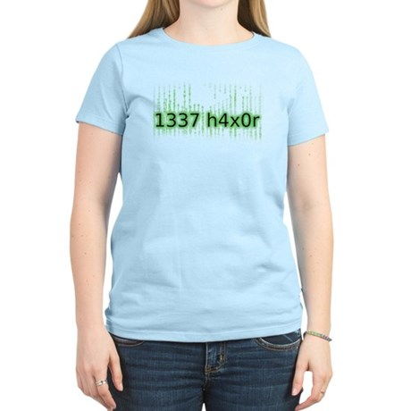 1337 h4x0r Women's Light T-Shirt