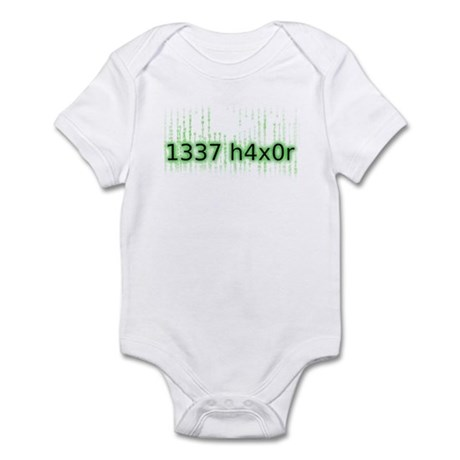 1337 h4x0r Infant Bodysuit
