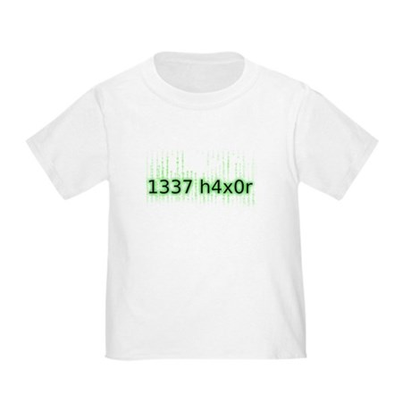 1337 h4x0r Toddler T-Shirt