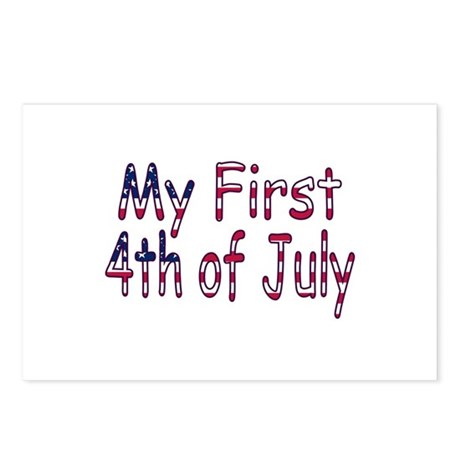 Baby First 4th of July Postcards (Package of 8)