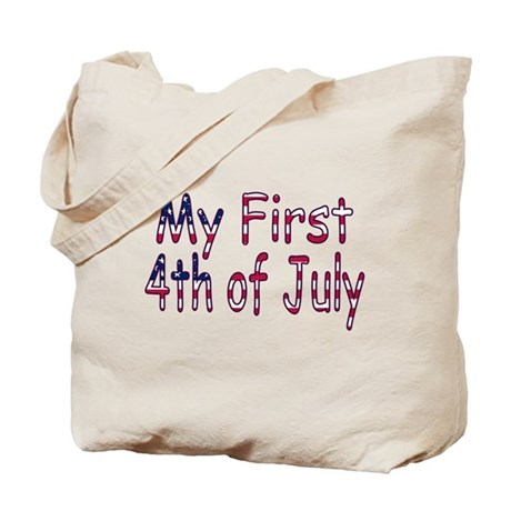 Baby First 4th of July Tote Bag