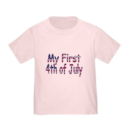 Baby First 4th of July Toddler T-Shirt