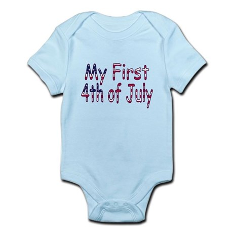 Baby First 4th of July Infant Bodysuit