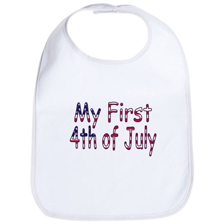 Baby First 4th of July Bib