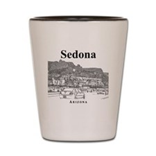 Sedona_12X12_MainStreet_Black Shot Glass