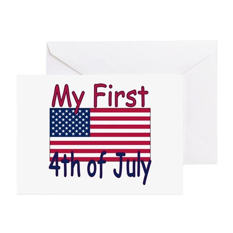 Baby First 4th of July Greeting Cards (Pk of 10)