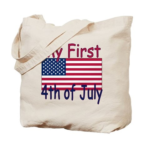 Baby's First 4th of July Tote Bag