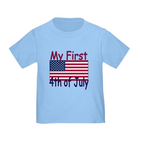 Baby's First 4th of July Toddler T-Shirt