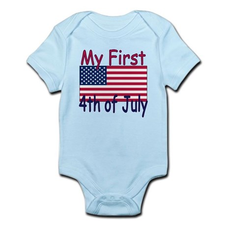 Baby's First 4th of July Infant Bodysuit