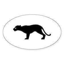 Cougar - Puma Oval Decal
