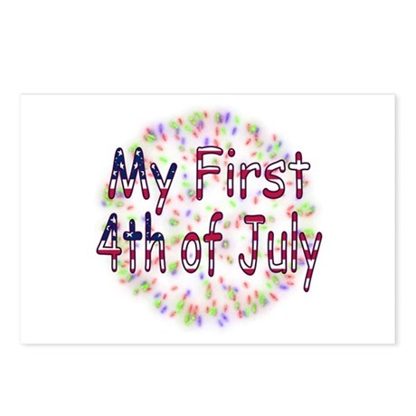 Baby First July 4th Postcards (Package of 8)
