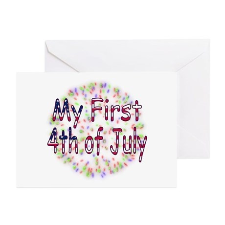 Baby First July 4th Greeting Cards (Pk of 10)