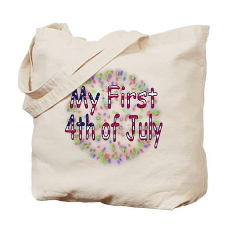 Baby First July 4th Tote Bag