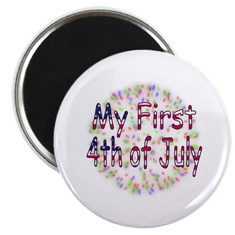 "Baby First July 4th 2.25"" Magnet (100 pack)"