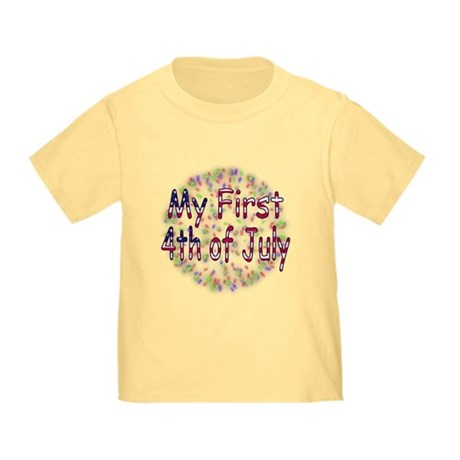 Baby First July 4th Toddler T-Shirt