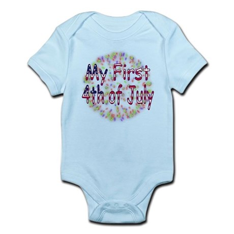 Baby First July 4th Infant Bodysuit
