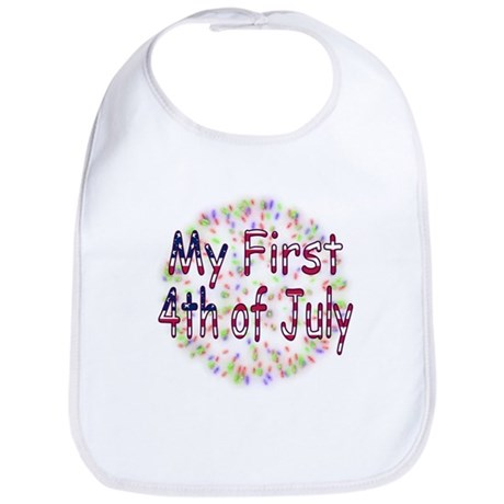 Baby First July 4th Bib