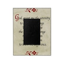 Serenity Prayer-Vintage Picture Frame